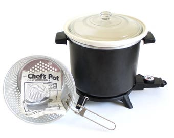 Dazey Chef's Pot DCP6 (DCL851) Deep Fryer Slow Cooker (as-is)