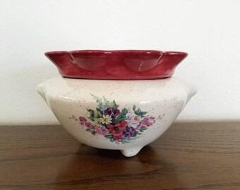 Ceramic African Violet Pot/Large