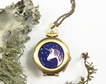 Unicorn Locket