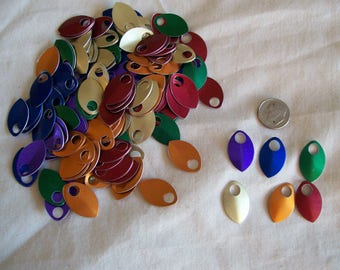 Dragon Scales - Aluminum - Small - Rainbow Kit for Small Mitts - or jewelry