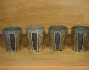 Set of 4 8oz. Cups