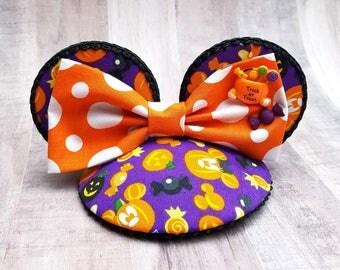 Mick or Treat Halloween Mouse Ears FascinEar™ Fascinator