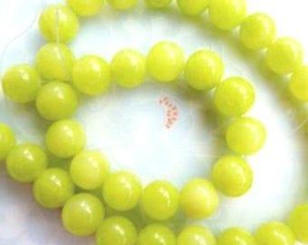 24 AGATE Gemstone Beads 8mm - COD4586