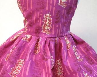 Amethyst Daydreams, Sleeveless Dress for your 18 Inch Doll B