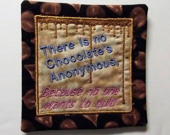 Chocolate Lover's Mug Rug