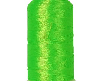 No. 950 (Neon Green) 1000m Polyester Spool of Embroidery Machine Thread