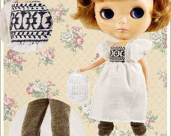 Clearance Sale - YAN - Brown Legging for Blythe doll