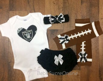 Raiders Game Day Outfit