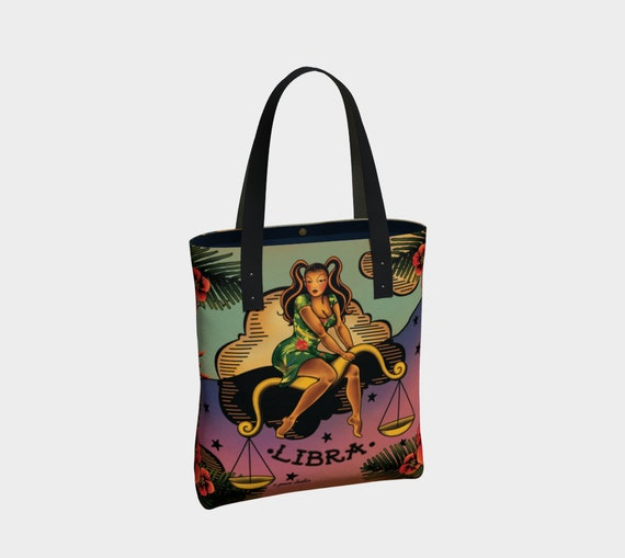Libra - Tattoo Premium Tote Bag