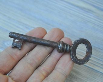 Antique metal key.