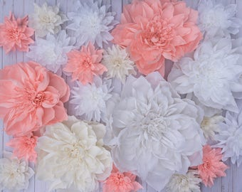 Set of 20 Peonies SPECIAL PRICE Giant Crepe Paper Flowers