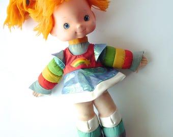 Vintage Rainbow Brite Doll, Large