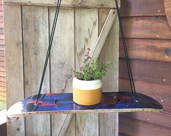 Skateboard Hanging Shelf