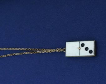 1940 dominos on vintage chain