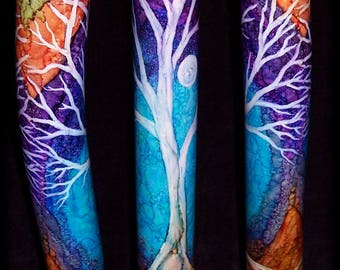 Handmade Didgeridoo, Tree of Life