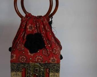"vintage handbag ""Hippy"""