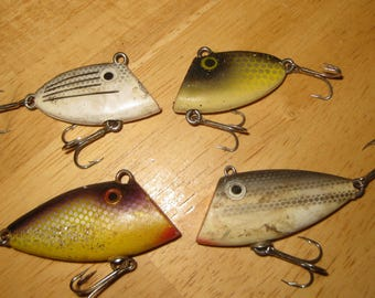 Pico Lot of 4 Fishing Lures collectible