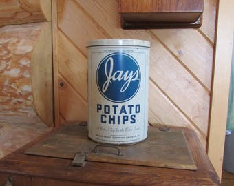 Jays Potato Chip Can Better Chip for the Better Trade