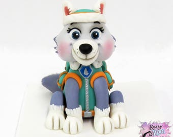 Everest Paw Patrol Cake Topper