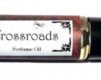 CROSSRAODS -  Roll on Premium Perfume Oil -  2 sizes to choose from - 1/3 oz or 1/6 oz -  bergamot, lemon, citrus, neroli, jasmine, orange