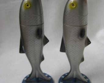 Vintage Fish Salt and Pepper Shakers