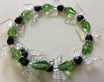 Green angel bracelet