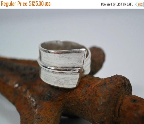 ON SALE Boho Ring - Sterling Silver Boho Ring - Hippie Ring - Bohemian Ring