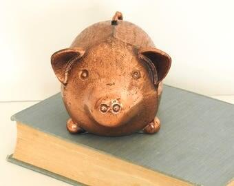 Cute Copper Piggy Bank