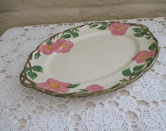 "Franciscan ""Desert Rose"" Large Oval Platter"