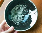 StarWars Death Star Bowls - your choice of 1 - Blue or Red - May the 4th be with you