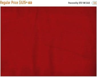 ON SALE Solid Red Fabric, Cherry Red Fabric, Fabric, Red Fabric, Quilting Solids, 01154A