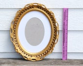 Custom Painted Frame - White with gold accents - RESERVED for Jennifer