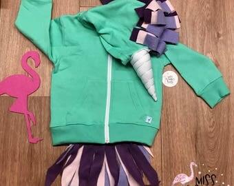 Unicorn Hoodie, Unicorn Sweater for Girls, Baby Girl Hoodie, Unicorn Costume, Unicorn Dress Up Clothes, Unicorn Party, Unicorn Easter