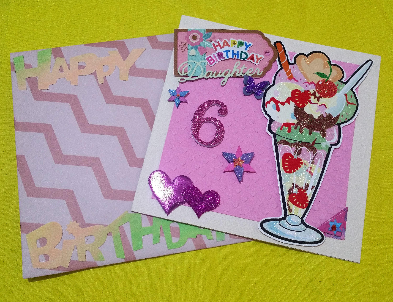 Birthday card 6 year old girl handmade cards any occasion cards birthday card 6 year old girl handmade cards any occasion cards made in bookmarktalkfo Choice Image