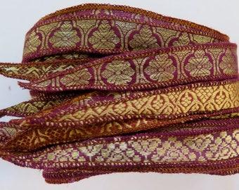 Brocade Silk Ribbon, W606