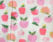 Kinder - Apples in Pink - Heather Ross for Windham Fabrics - 43483-1  - 1/2 yard