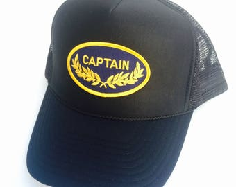 Captain Trucker Hat by Roupolimama