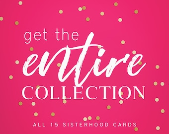 Sisterhood Greeting Card Collection