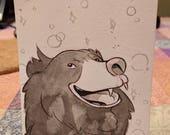 InktoBEAR: Sloth Bear