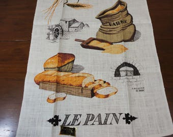 KayDee Hand Prints Bread Tea Towel