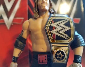 Edge WWE Heavyweight Championship belt for wrestling figures