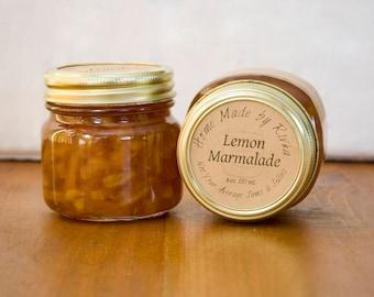 Lemon Marmalade in 8 oz