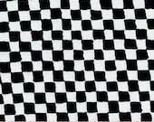 12x16 - Checkered Flag Minky Pillowcase - NASCAR Toddler Pillowcase - Travel Pillowcase - Toddler Pillowcase - Black and White Pillowcase