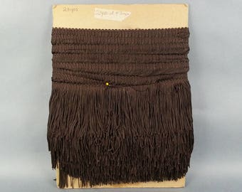 "23 Yard 4"" Fringe Brown Sewing Crafts"