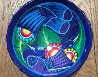 Vintage handmade Mexican pottery