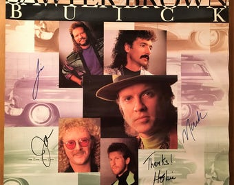 Autographed poster of Sawyer Brown.