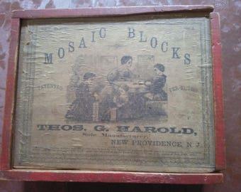 Antique Blocks - Mosaic Blocks - Block Game