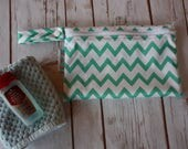 Wet bag,Wet Dry Bag,Zippered Wetbag,Travel Wet Bag,PUL Bag,Wet Bikini Bag,Cloth Pad Wetbag,Cloth Diaper Wetbag,Chevron,Pool Bag,Cosmetic Bag
