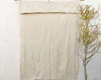 Authentic Plain African Mudcloth Fabric, Ecru Mud cloth fabric, natural mudcloth throw mudcloth textile 13
