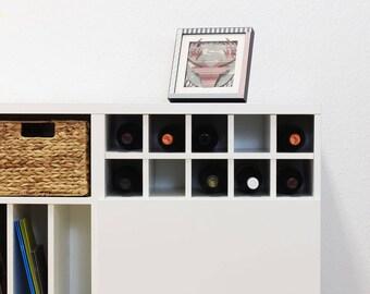 Bottle shelf for IKEA Besta shelf
